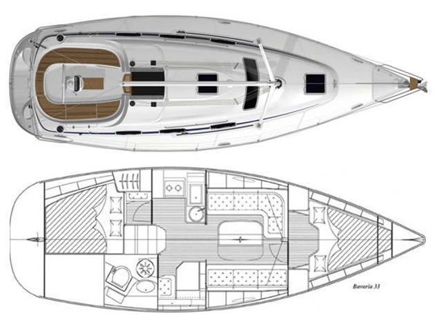 100249800000100000 bavaria33 cruiser plan