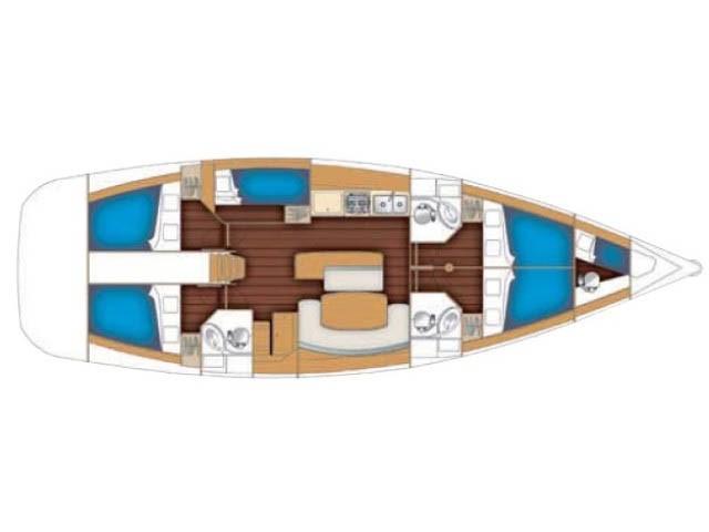 1255430359801284 1413791572392 yelkenli yatcilik beneteau cyclades 50 layout