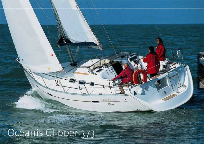 Perdika Oceanis 373 Clipper