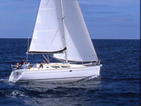 Sun Odyssey 35-3 Cabin