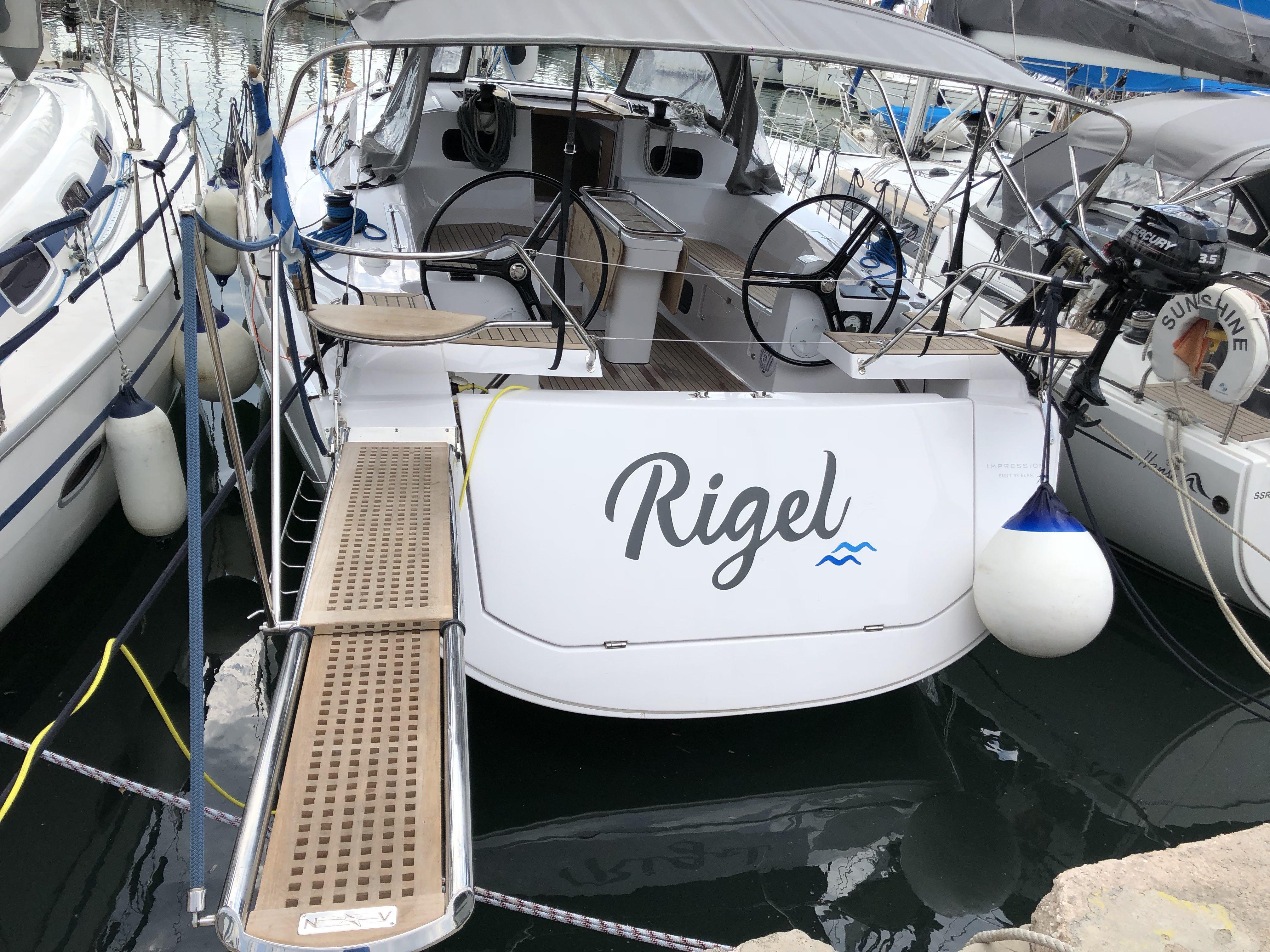 Rigel Elan 45 Impression