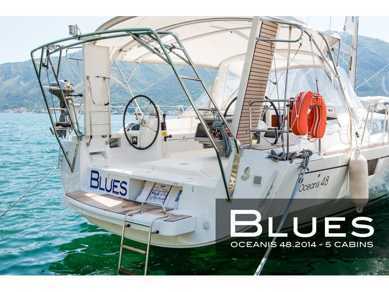 "Oceanis 48 (5 cabins) ""Blues"", Tivat"