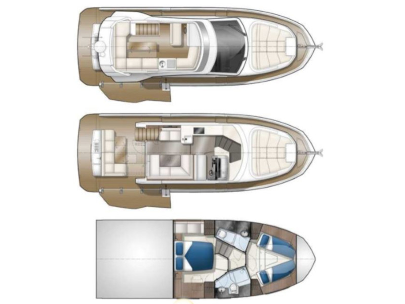 Galeon 400 Fly[G], Powerboat