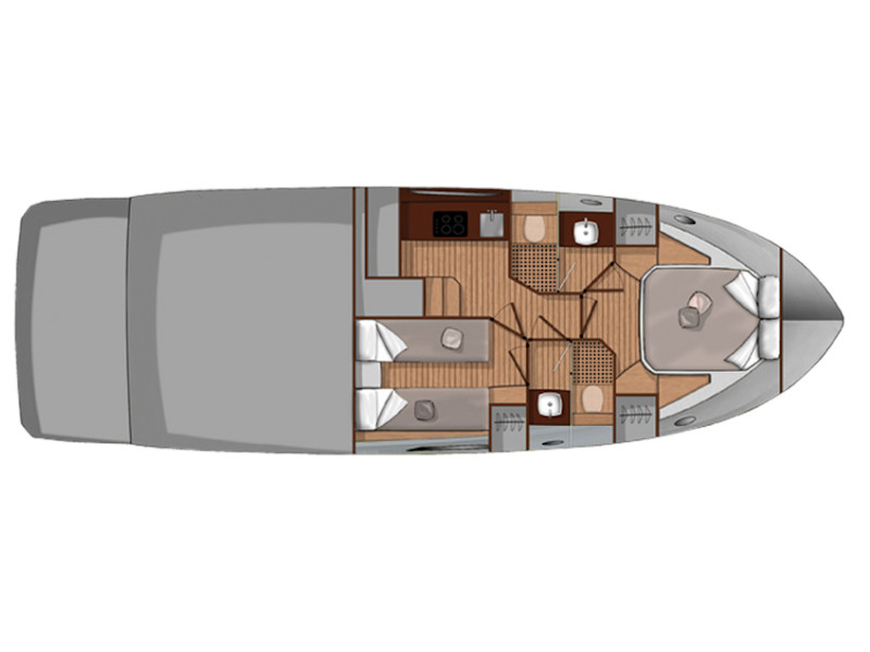 Sessa Fly 42[G], Powerboat