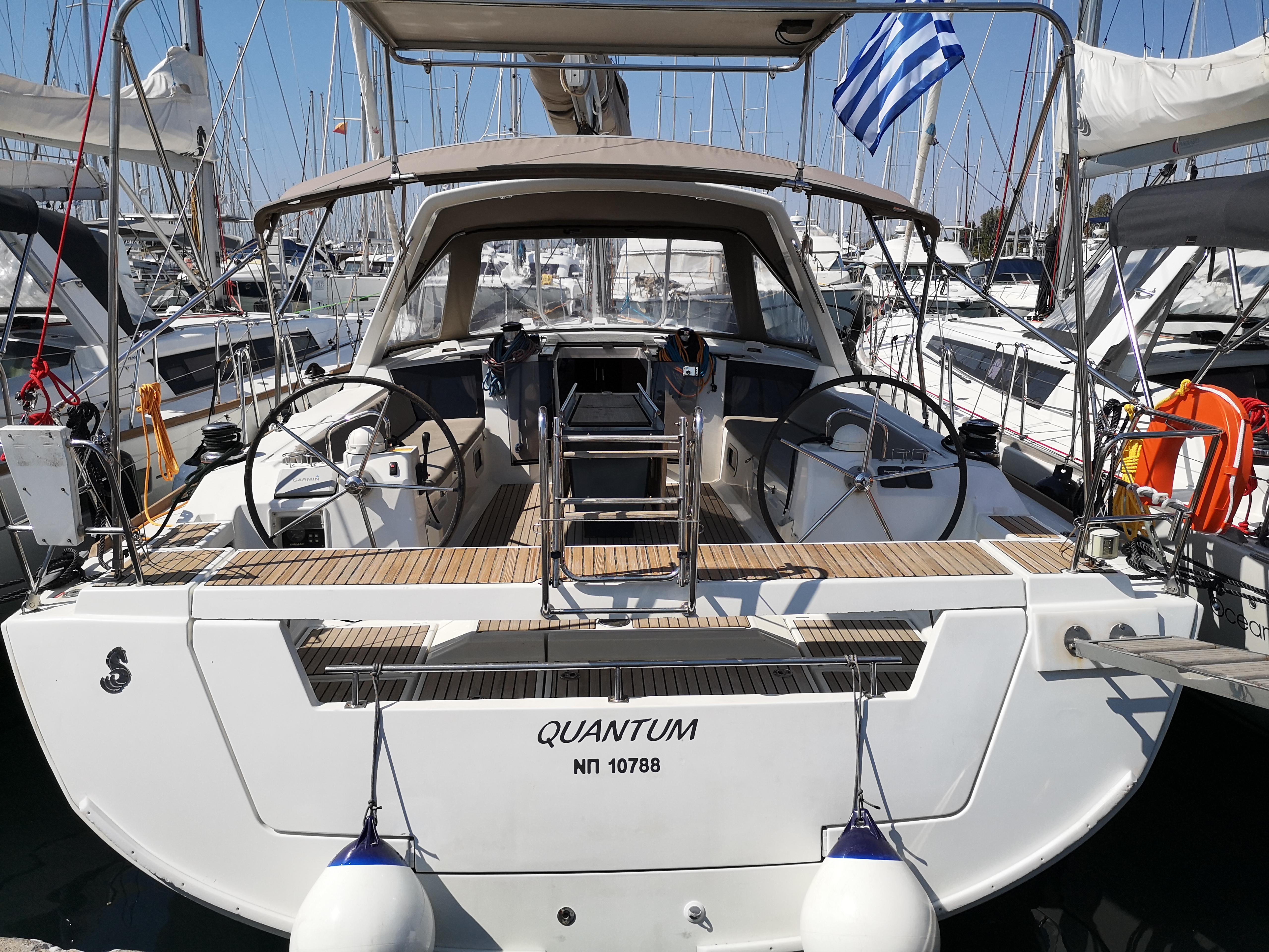Quantum - Bow & Solar Oceanis 45