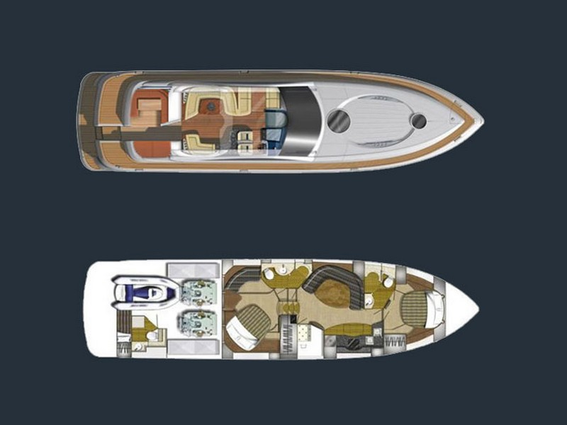 3543420398800098 motor boat croatia yacht charter fairline targa 62 20