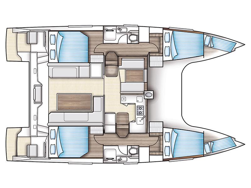 Catamaran - Nautitech Open 40 - 4 Cabins - Built 2016