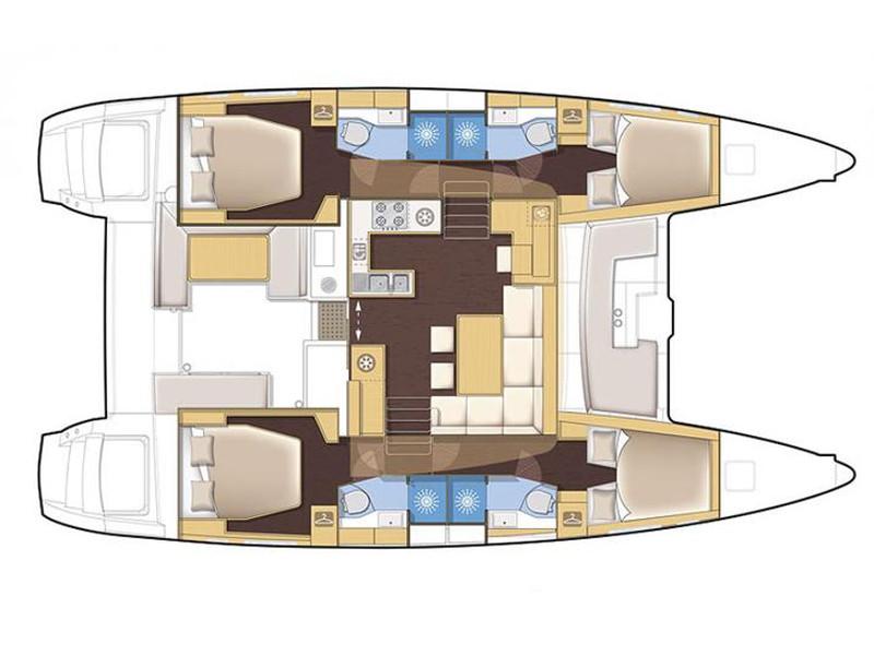 Lagoon 450 FLY