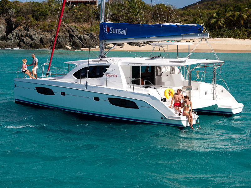Leopard Catamarans 36