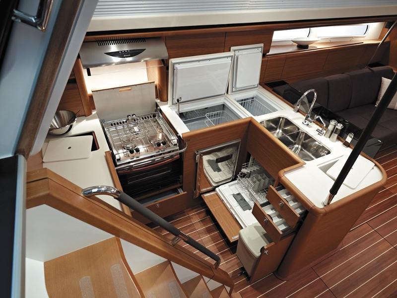 Jeanneau 57, Athenian Yachts
