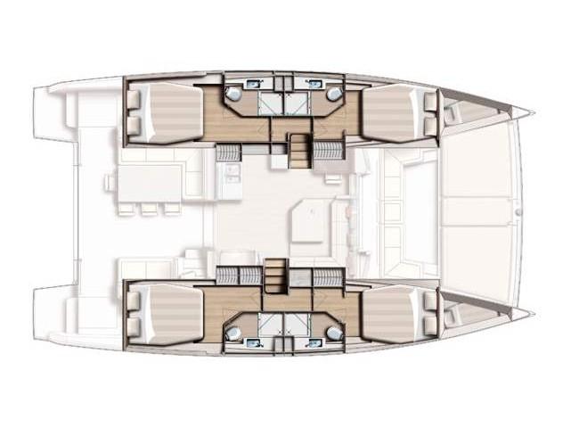 Cabin Charter-Pandora - Mitsegeln für 2 Personen - Cabin Charter 2 pax (cabin 1)