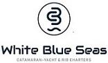 White Blue Seas