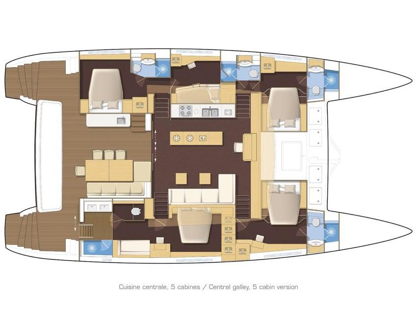 Lagoon 620, Ocean Sailing House