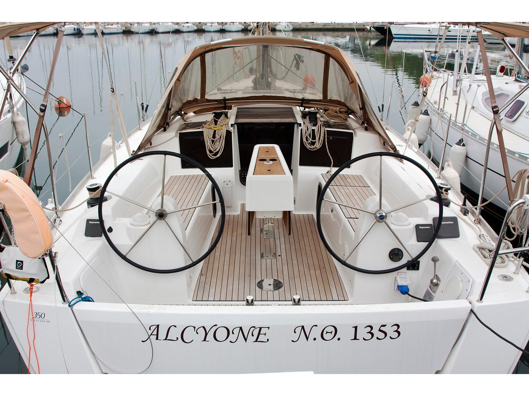 "Dufour 350 Grand Large ""Alcyone"", Nikiti - Chalkidiki"