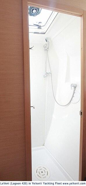 Port Front Shower