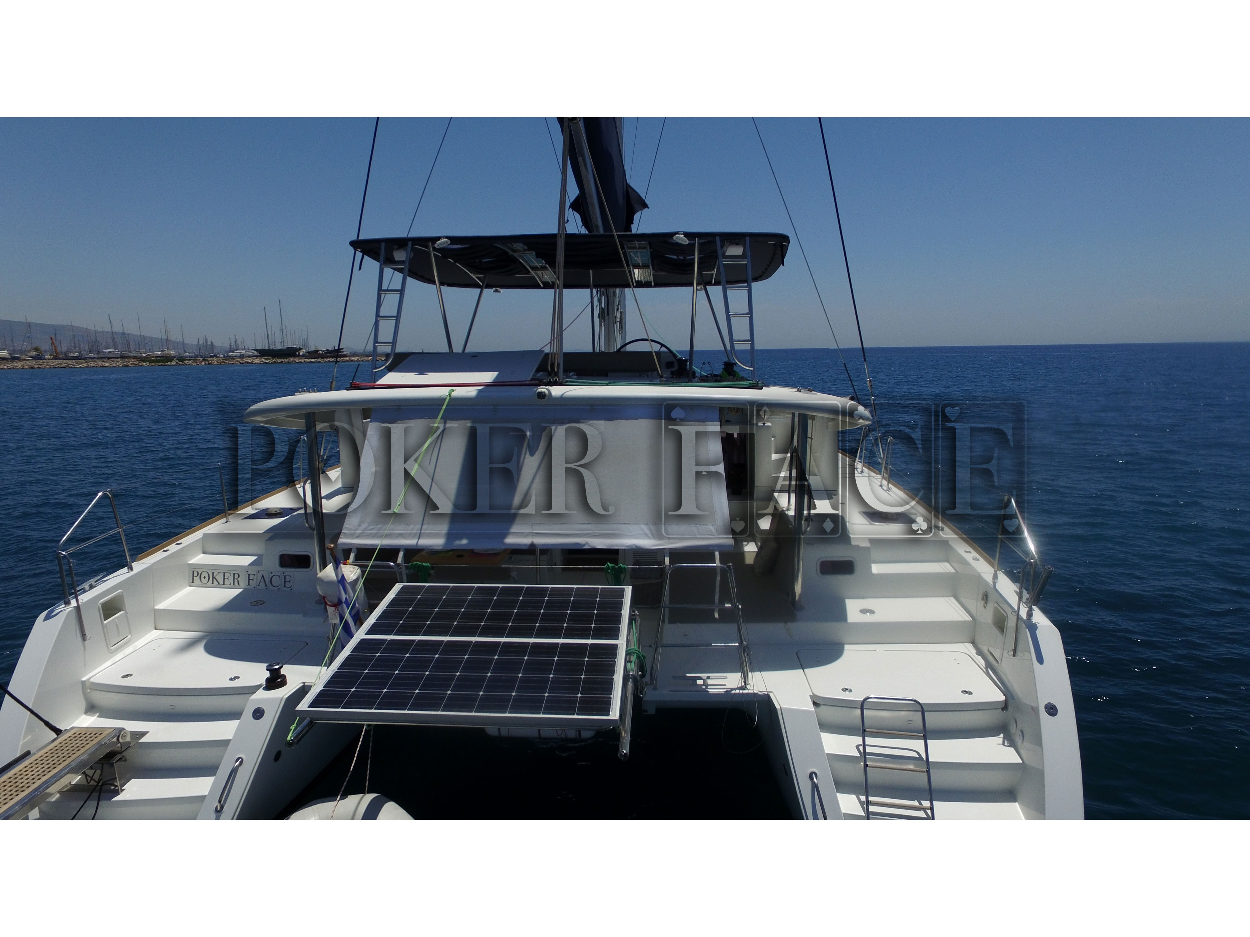 "Lagoon 450 ""Poker Face  - (A/C - Generator - Refit 2020)"", Athens"