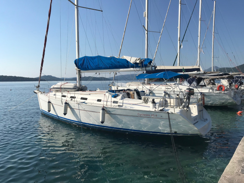 "BENETEAU  Cyclades 43.4 2008/REFIT 2019 ""RUBY "", Corfu"