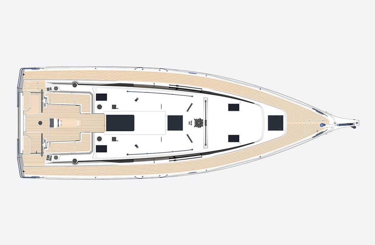 Karpouzi | A/C, Full teak deck