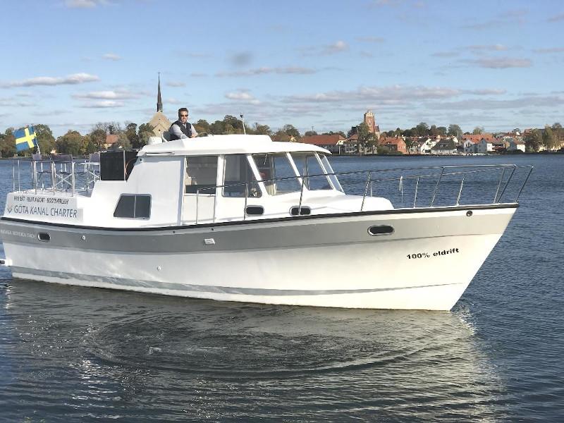 """Naviga Nordica T 40 """"Caspian af Vadstena"""", Söderköping"""