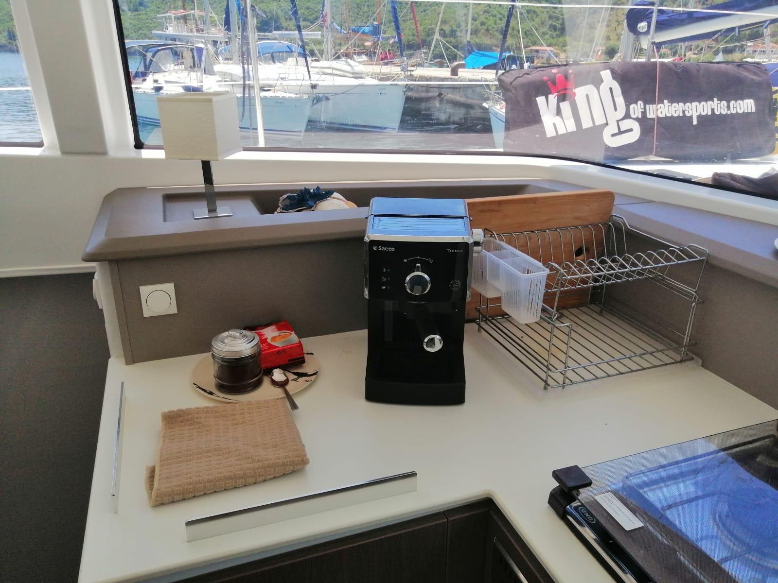 Iris (Water Maker, Solar panels, Fans in all cabins)