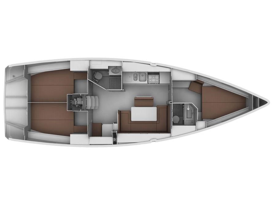 S/Y - Bavaria Cruiser 40 - 3 Cabins - Built 2011