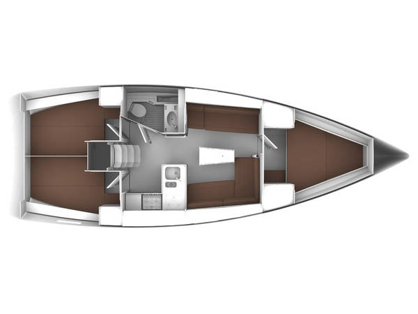S/Y - Bavaria Cruiser 37 - 3 Cabins - Built 2015
