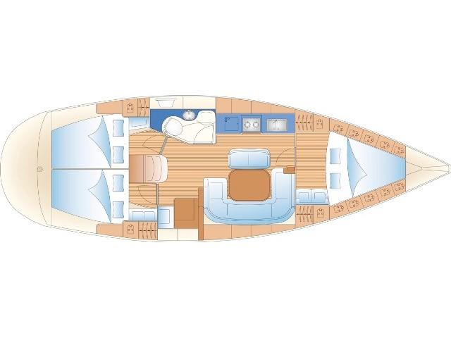 S/Y - Bavaria 38 - 3 Cabins - Built 2004