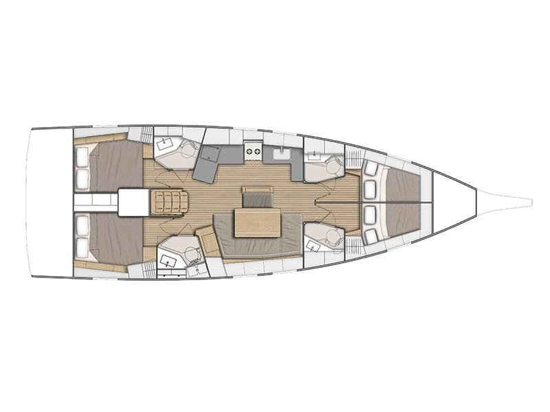 Oceanis 46.1, Volos