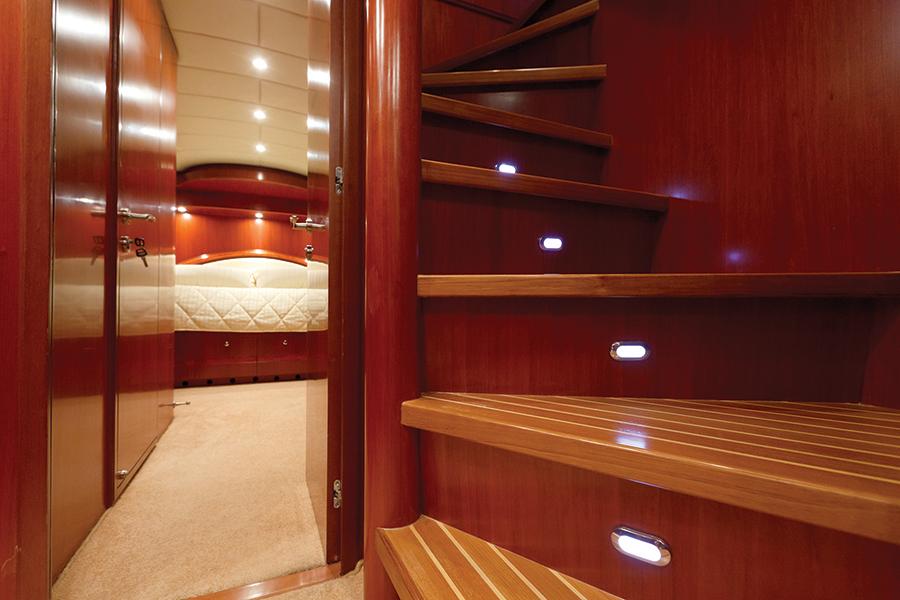 Johnson 87 Luxury yacht interior
