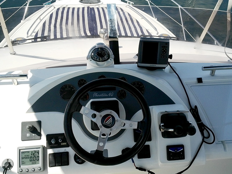 Fly bridge GPS