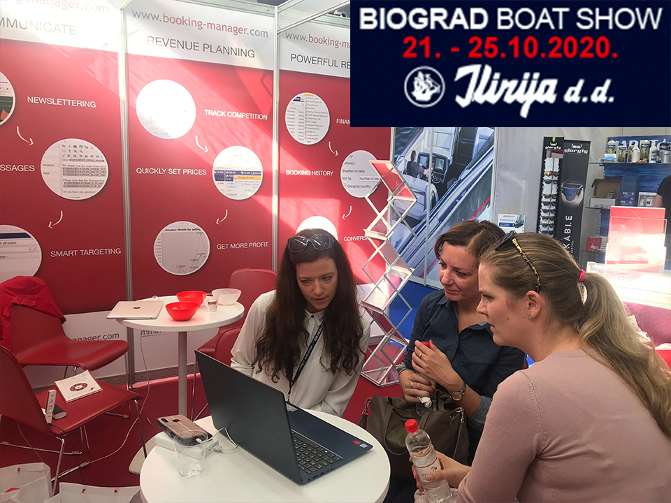 MMK Exhibiting at Biograd Boat Show 2020
